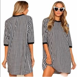 WILA NWT Oversized Gingham Dress